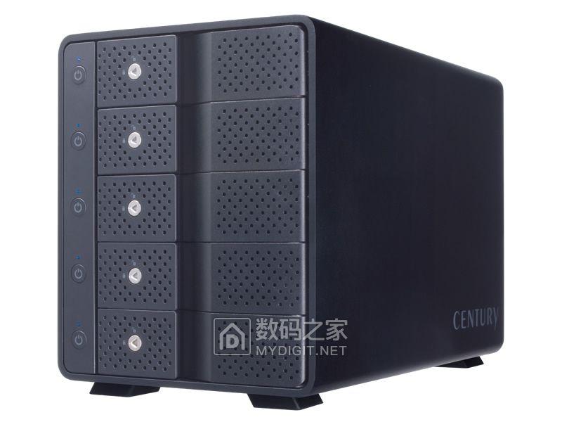 """给""""大姐姐们""""一个四星级的家 世特力发布新款5盘位分控硬盘盒"""