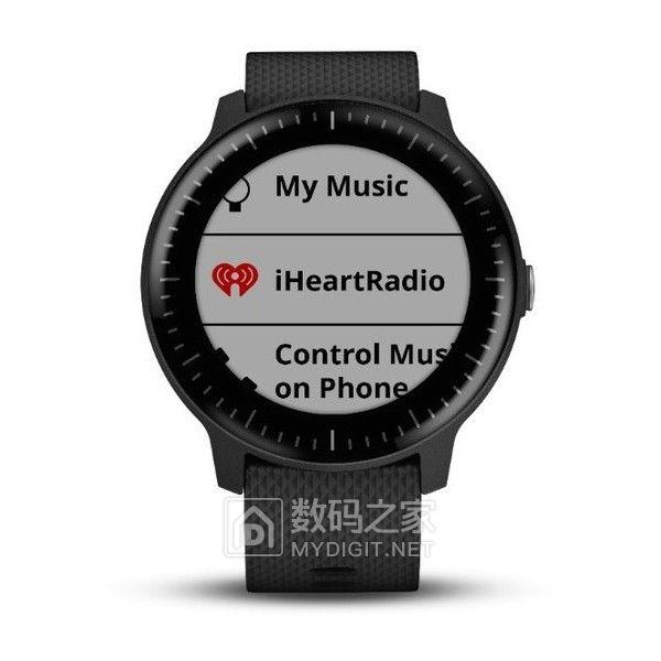 户外健身党的好朋友 佳明发布vívoactive 3 Music GPS智能手表