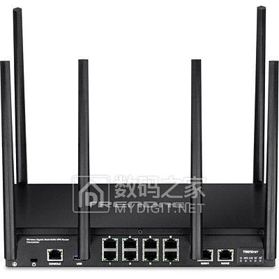 内建世界级网络管理引擎 趋势网络发布三频商用路由TEW-829DRU
