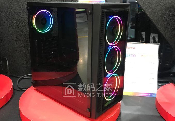 爱透视,色彩不掩饰 安耐美首款程控RGB玻璃机箱近距离图赏