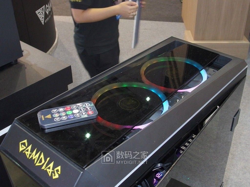 色彩就要炫出来 台湾外设名家GAMDIAS发布TALOS M1全塔开窗机箱