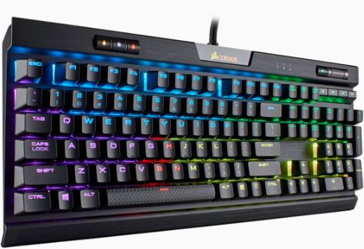 钢铁之躯+多样手感 海盗船发布K70 RGB MK.2电竞机械键盘