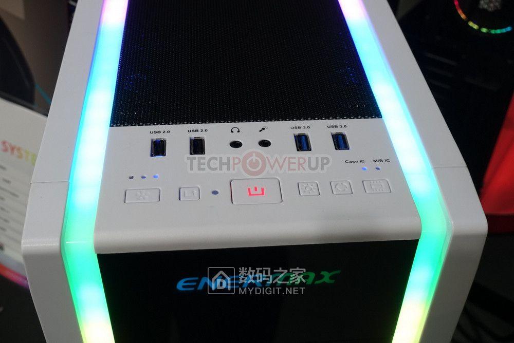 美不胜收,睛彩不断 安耐美推出轻旗舰级机箱OSTROG ADV RGB