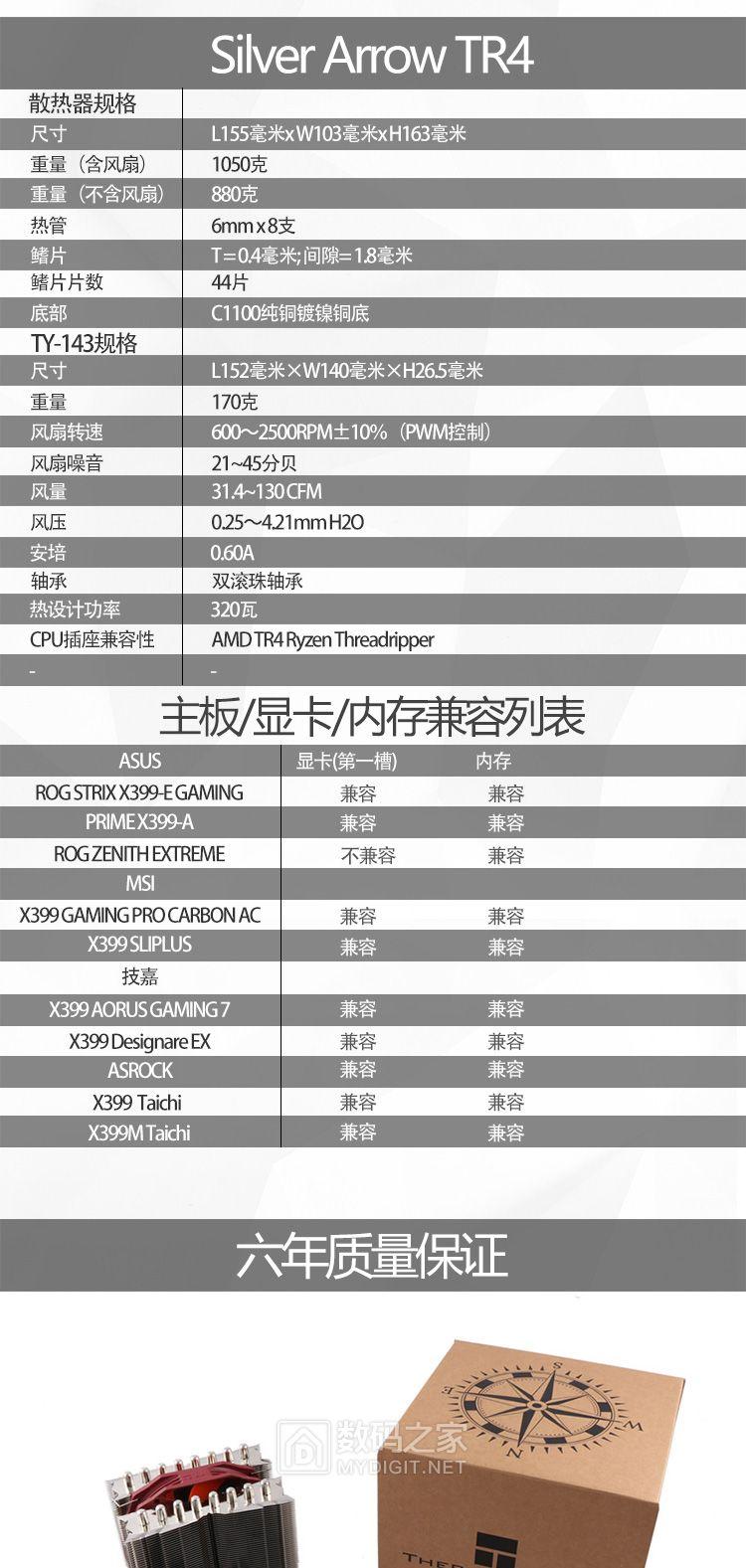 """经典""""三明治""""+歪脖不干涉 利民全球发布Silver Arrow-TR4散热器"""