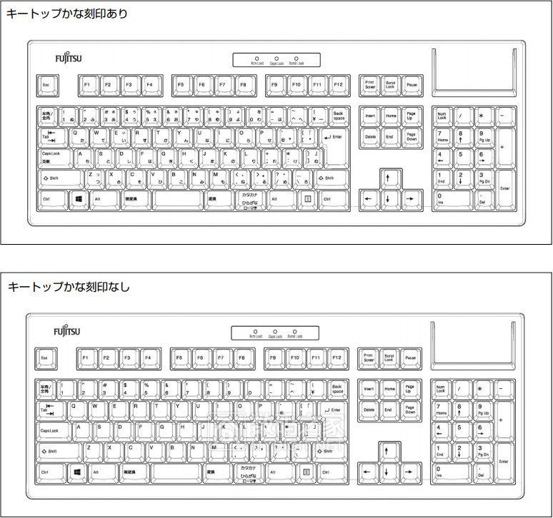 机会就一次,想买的赶紧了 富士通推出复刻版Libertouch薄膜键盘
