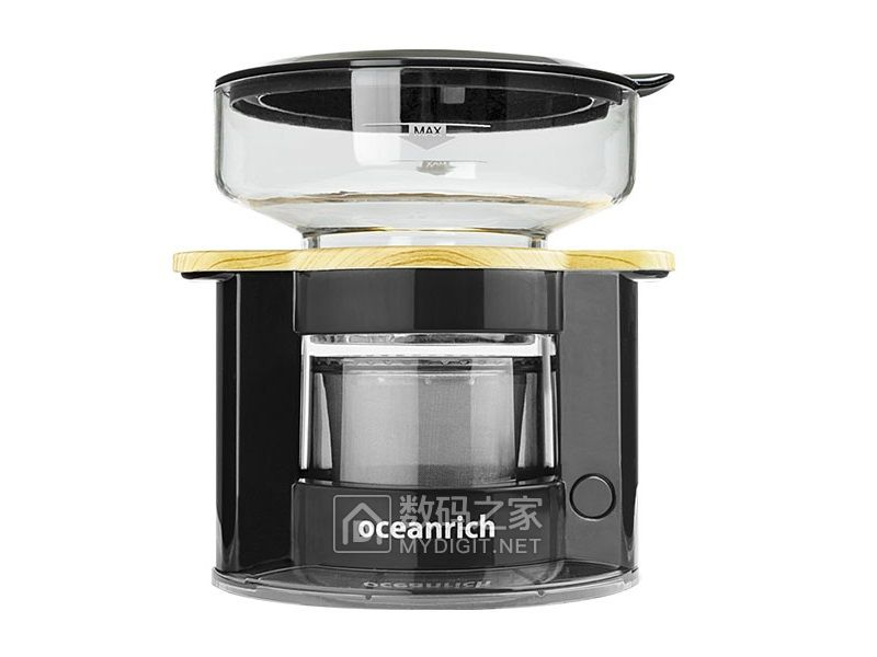 加点水就能喝到香醇手冲咖啡 欧新力奇发布UQ-CR8200系列旋转咖啡机