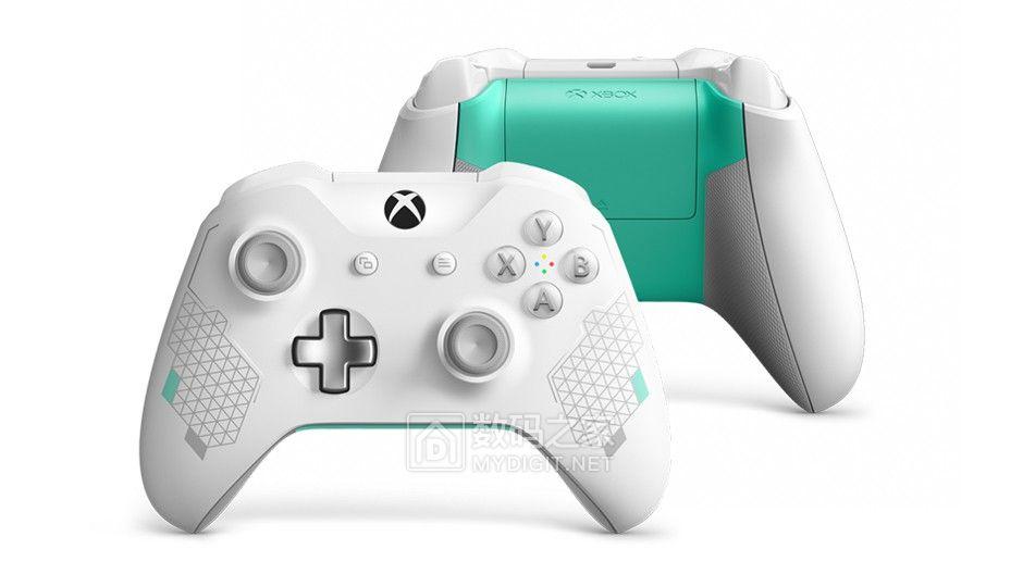 """改走文艺小清新路线 微软推全新""""运动白""""Xbox One手柄"""
