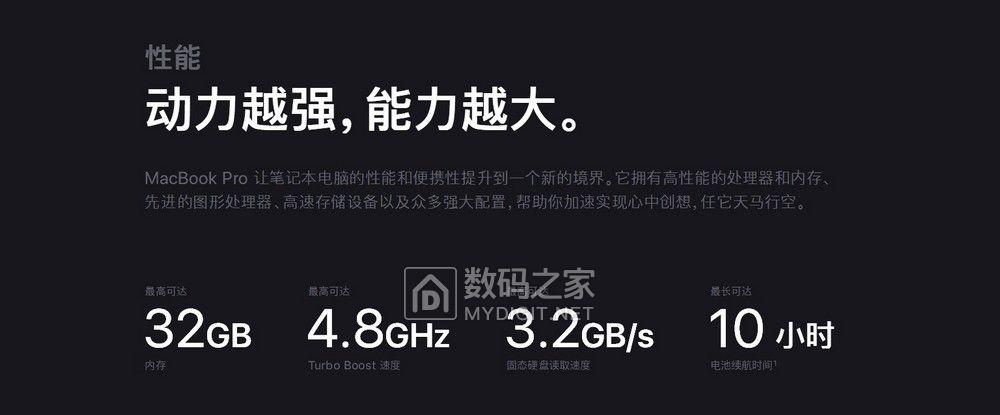 苹果悄悄更新Macbook Pro:你要的8代酷睿i9和32GB内存来了