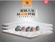 天然乳胶床垫山羊绒棕