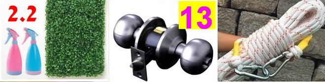 剥线钳4.5不锈钢角阀3.2灭火器9.9双筒望远镜19电动牙刷14.9老花镜6.9落地扇39