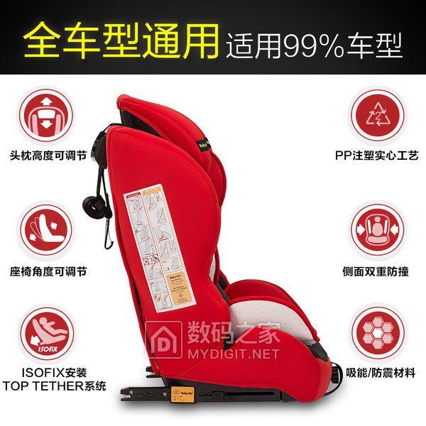 Babyvox贝芙宝贝儿童安全座椅怎么样?是ISOfix接口吗?