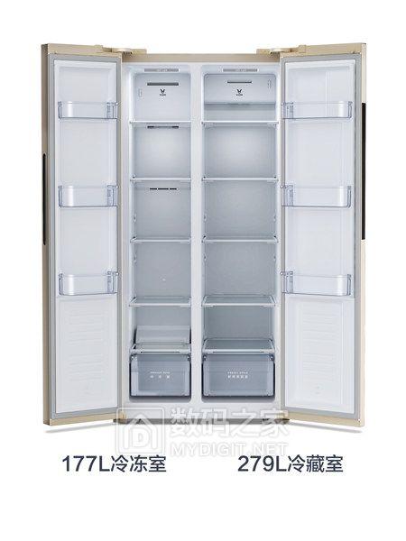 云米冰箱BCD-456WMSD这