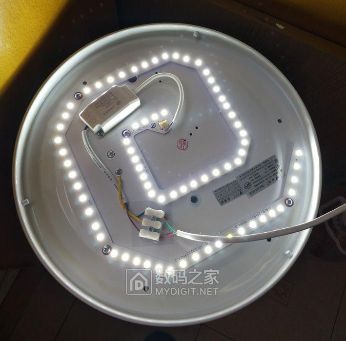5元包邮!光一个外壳灯罩就值了!!!36瓦 灯罩直径34厘米大尺寸 LED吸顶灯!