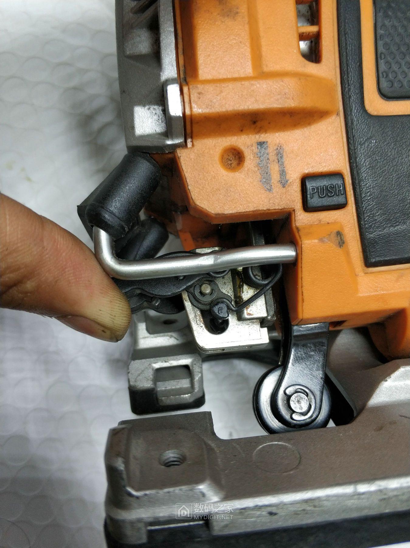 【莫莫】AEG 里奇 PST 500 X 220v曲线锯 首拆 维护 保养