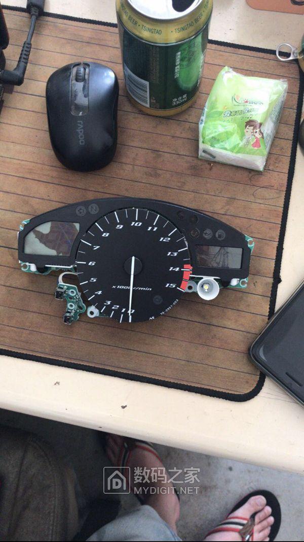 05年雅马哈r1仪表板更换维修