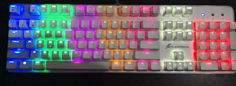 二手铝壳机械键盘38起