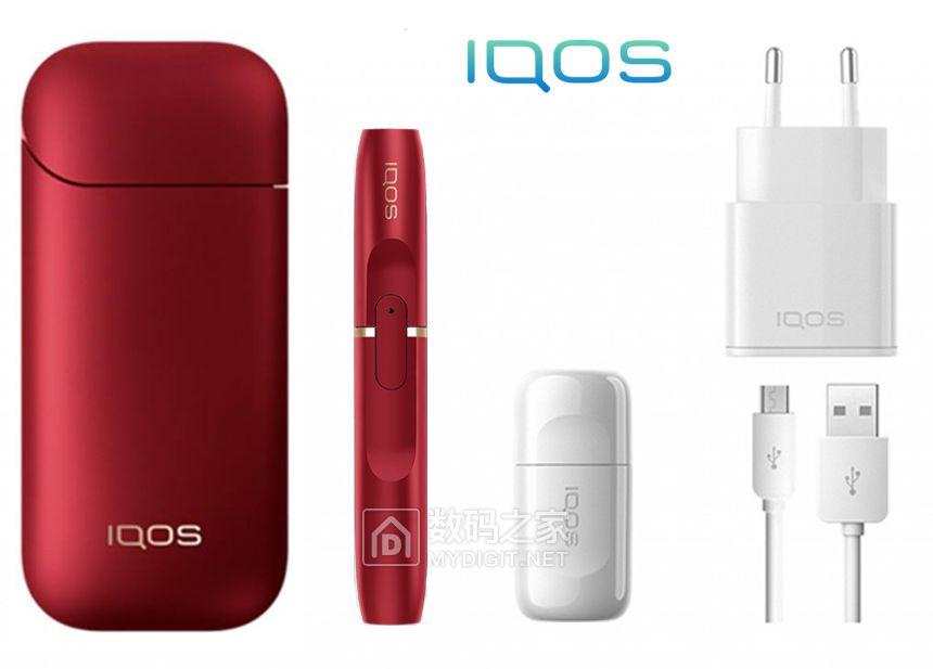 戒烟辅助神器,IQOS三代2.4plus电子烟 黑色/白色/蓝色/红色/钢铁侠