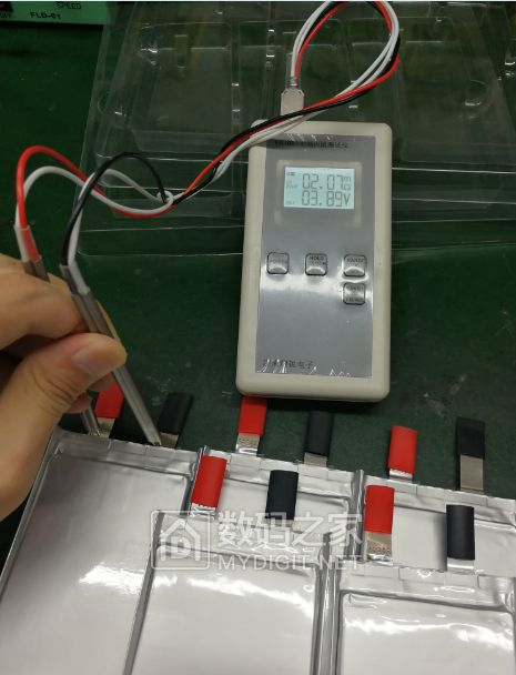 动力锂电芯做的充电宝