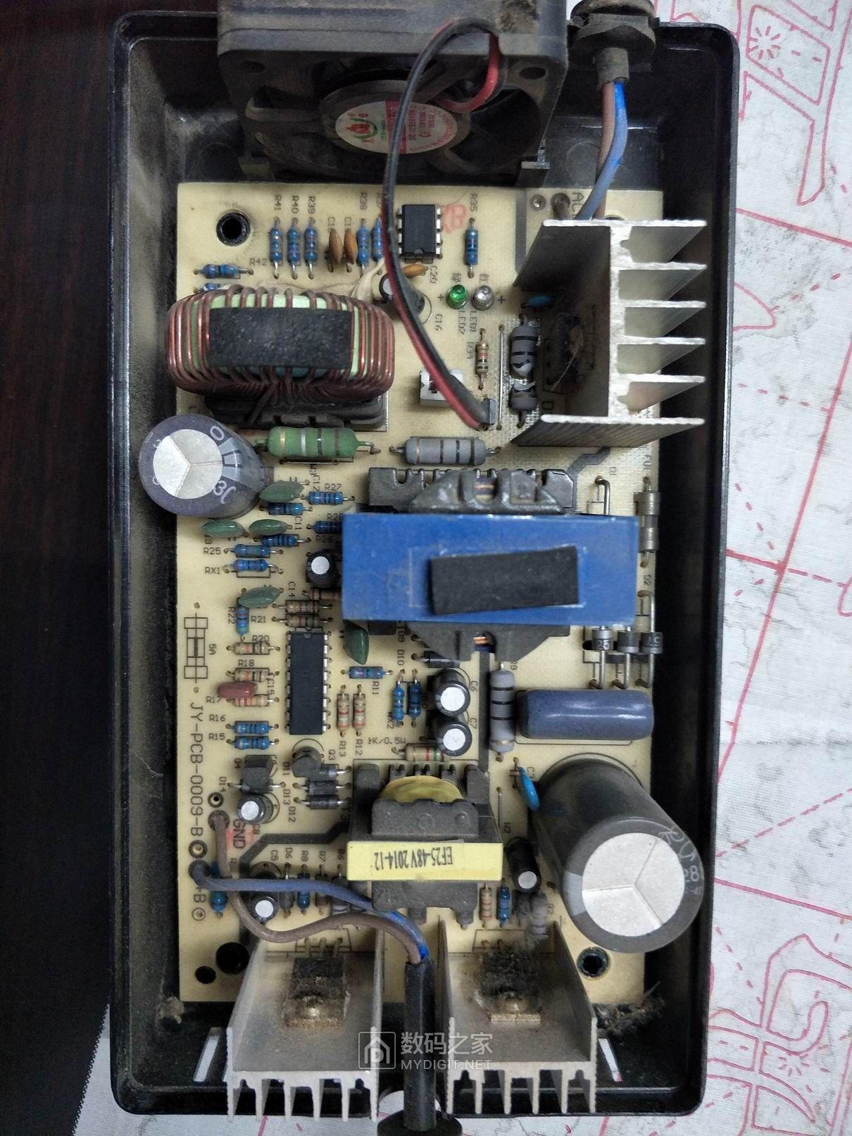 拆机绿佳电动车充电器 dzm722001