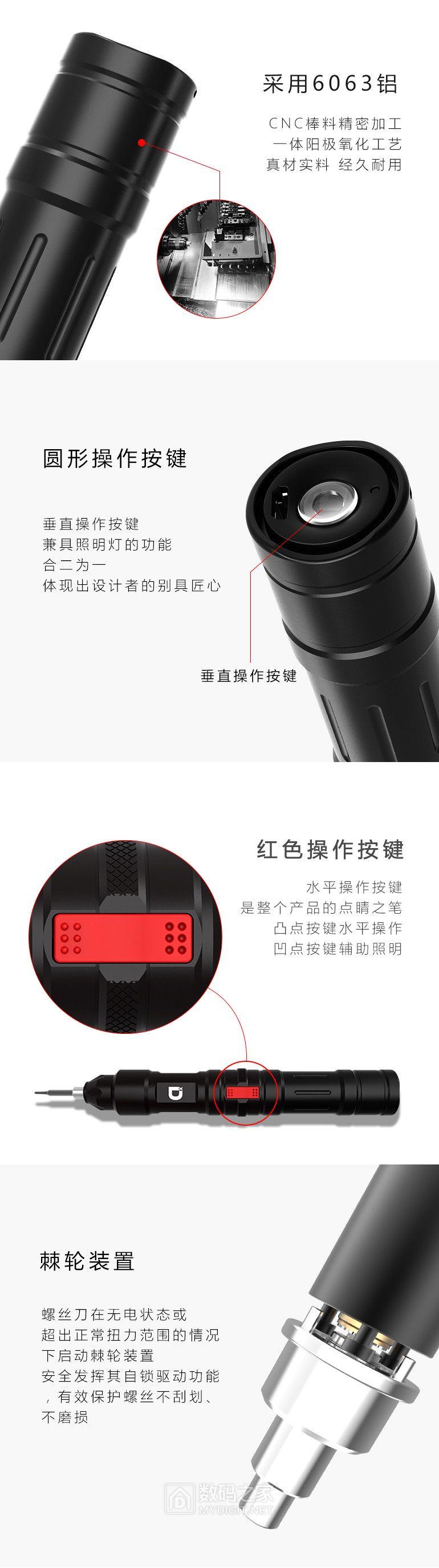 无极变速新玩法,小动X2迷你智能电动螺丝刀评测试用活动(中奖名单公布)