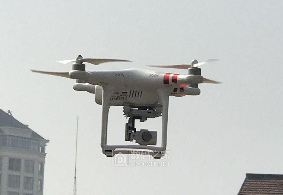 无人机测试下效果可以