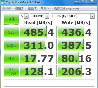 高速固态猛货340GB 288