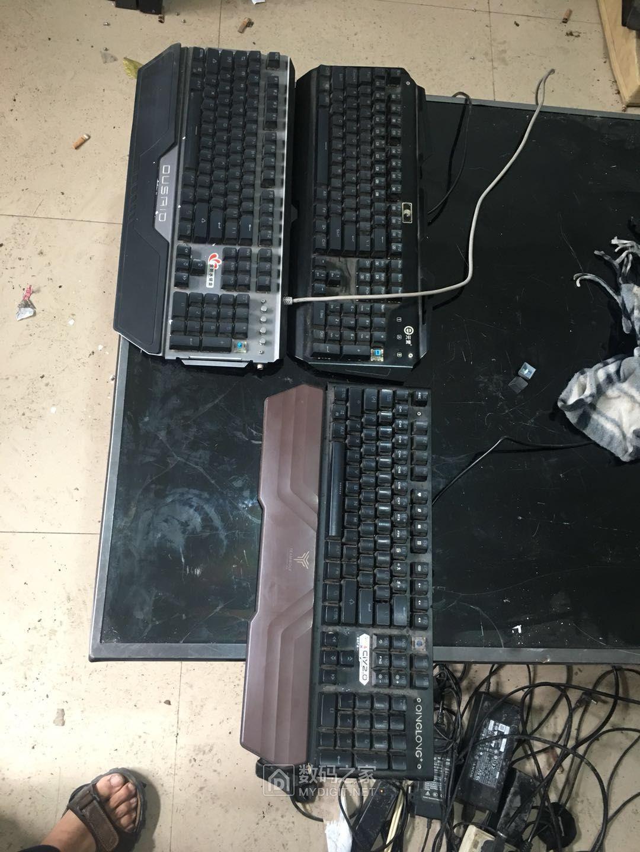 全触发的青轴机械键盘