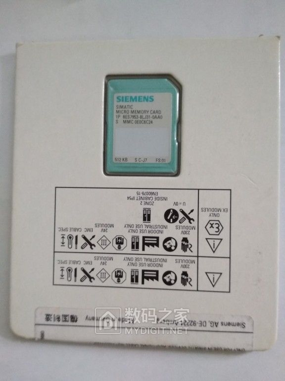 人傻钱多的代表物品 SIMATIC 512KB MMC