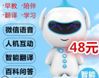 智能早教机器人48!双1