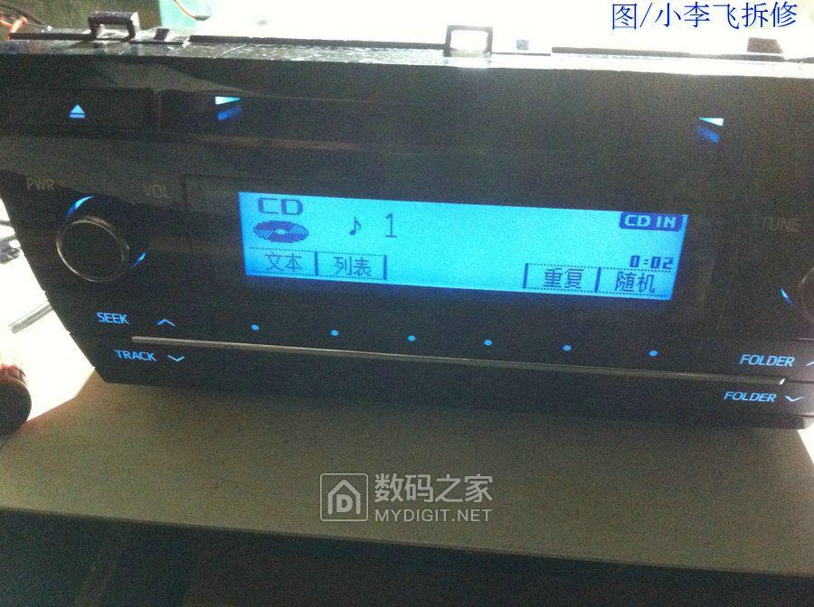 丰田卡罗拉TOYOTA86120车机(简单接线后可以家用)