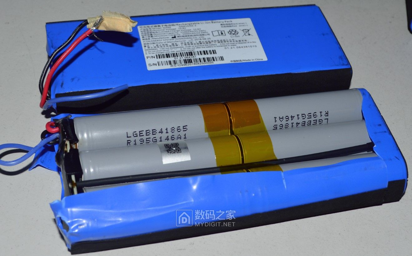 LG18650锂电 2550毫安