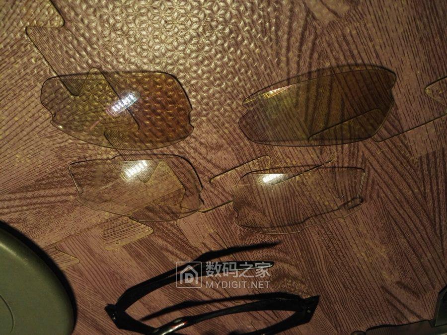 给骑行眼镜配镜片