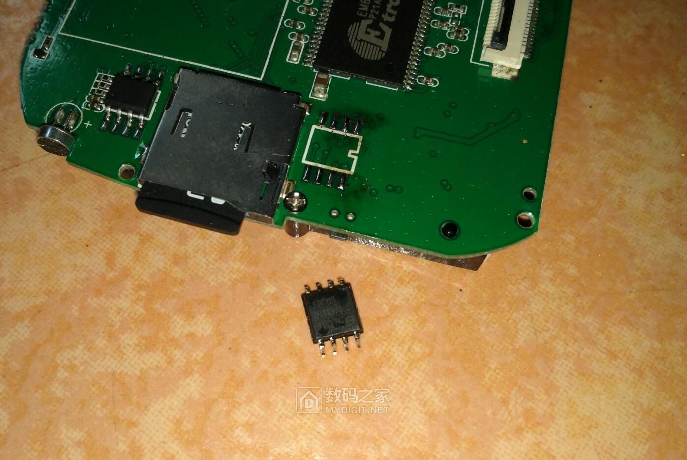 联想行车记录仪V35 拆解、备份固件、换电池 (NT96220FG+OV9712)