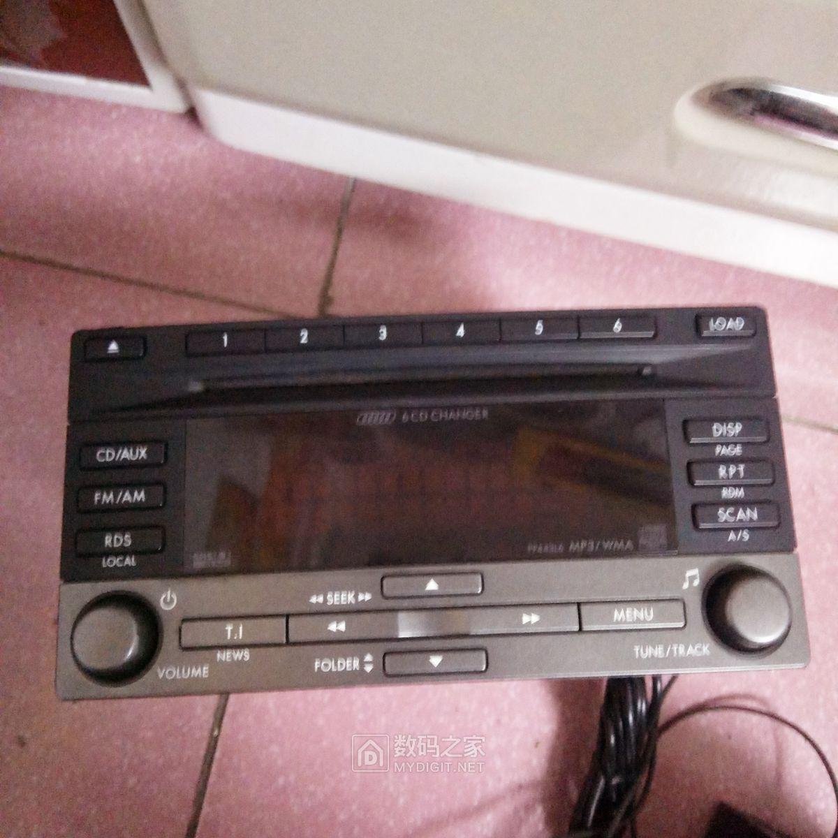 斯巴鲁森林人进口6碟CD机(日本松下大阪工厂产)疑惑