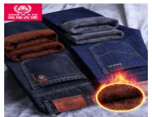 战地吉普男加厚牛仔裤4