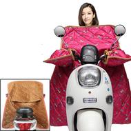 电动摩托车挡风被冬季
