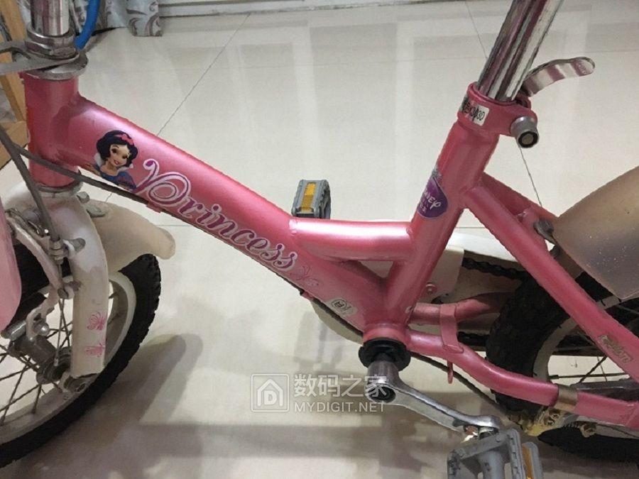 好孩子自行车装好了出发吧