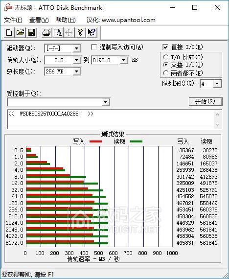 出2246en 高速mlc 500g固态硬盘实际512