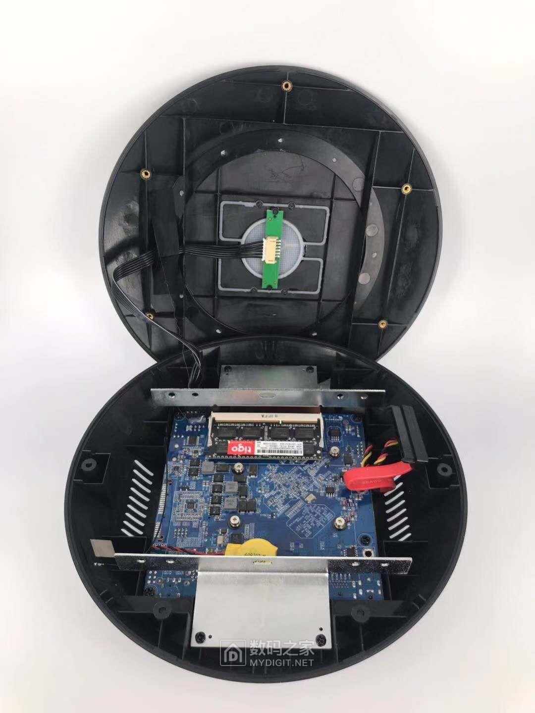 小小小!四核四线程J1900 NANO-ITX 迷你小主机 黑群晖 云存储 NAS HTPC