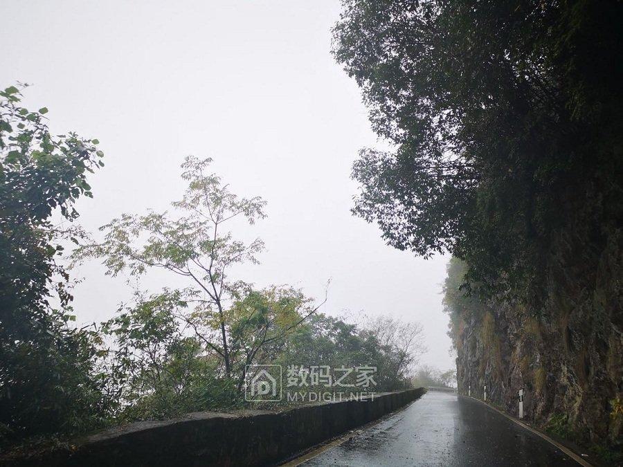 雨天初冬之山野