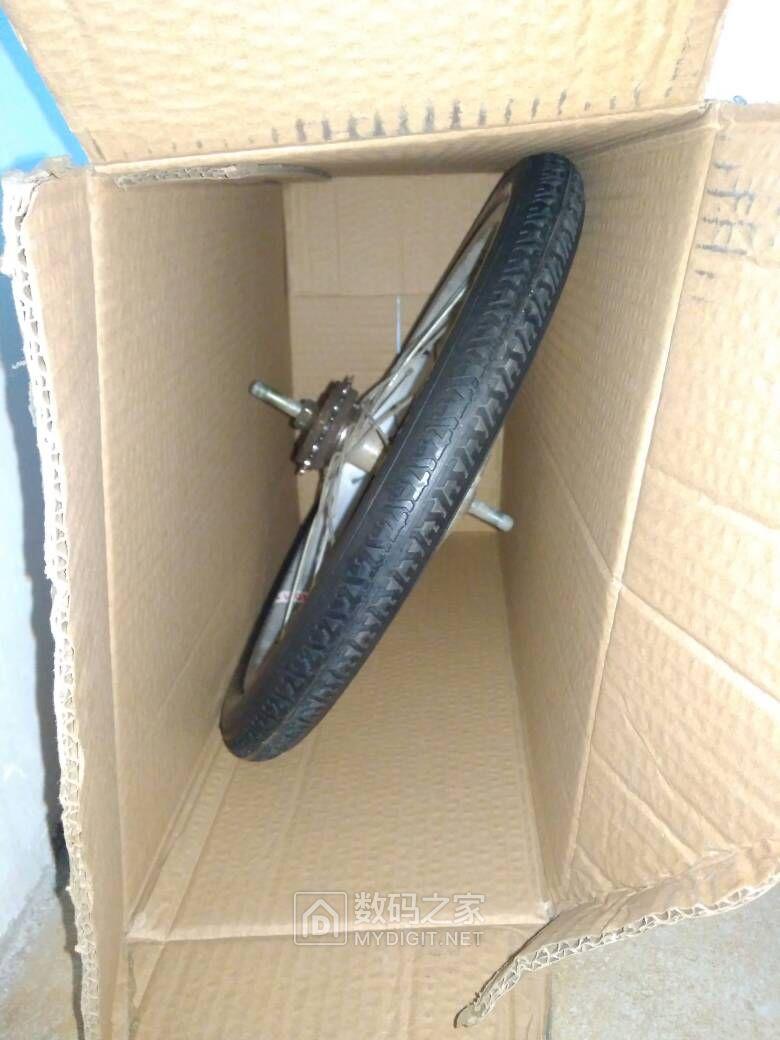 新年第一天,不拆机装个实心轮胎