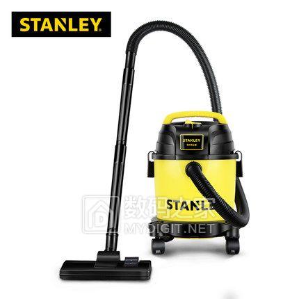 Stanley史丹利SL19135P干湿吹三用桶式吸尘器9.5L大容量 券后198包邮 送一堆配件
