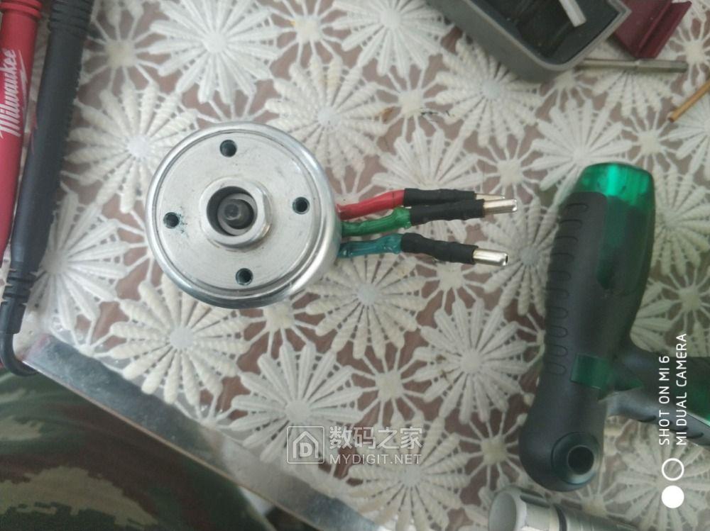 拆个博士起子上的无刷电机轴断了
