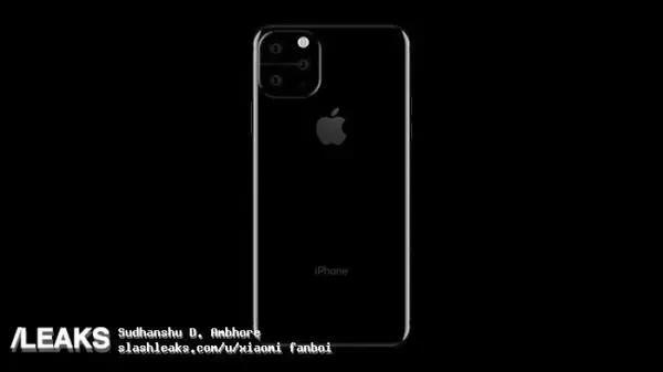 新iPhone曝光!不规则四摄+闪光灯是要逼死强迫症?!