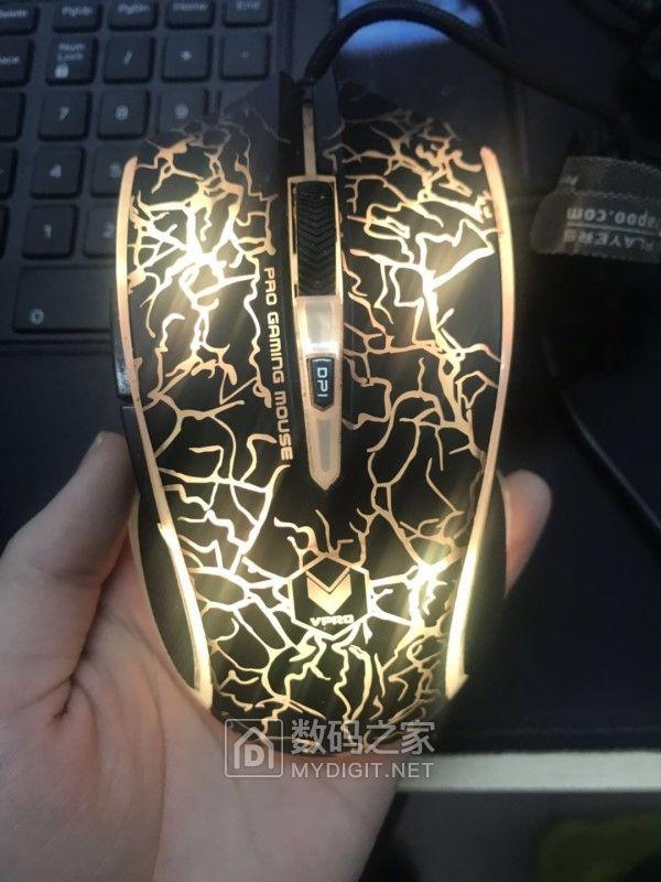 雷柏V20s游戏发光鼠标