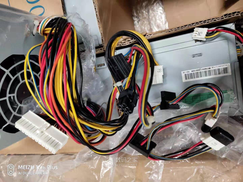 富士通 西门子服务器 350W 电脑电源 坛友福利39一台有拆机图