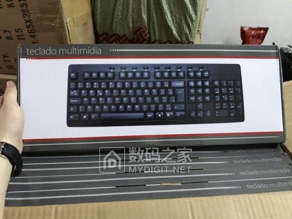 全新库存有线键盘大量