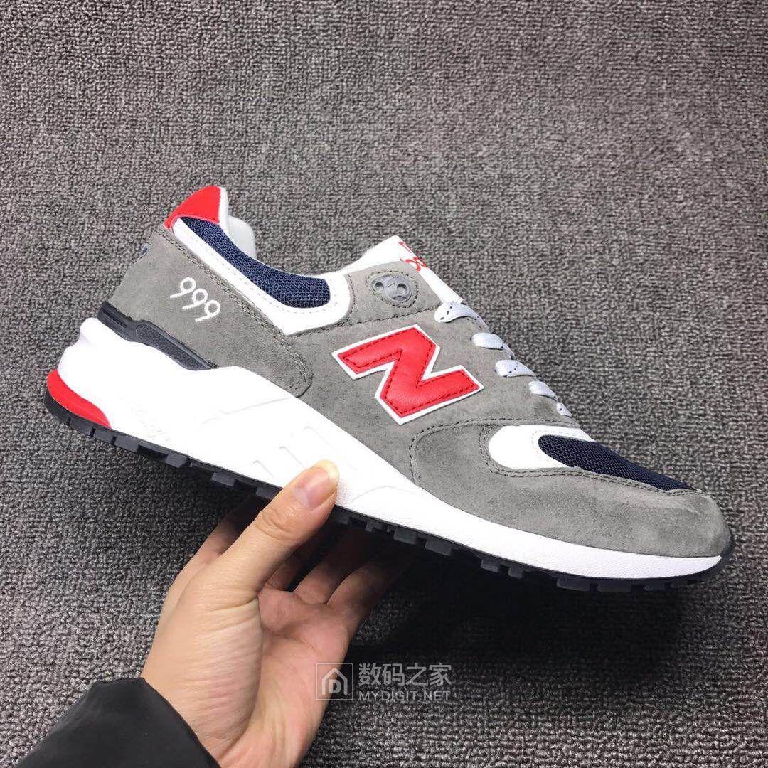 四个颜色169元包邮,36-44码情侣款 NB999系列,复古增高跑步运动鞋带ABSS缓震