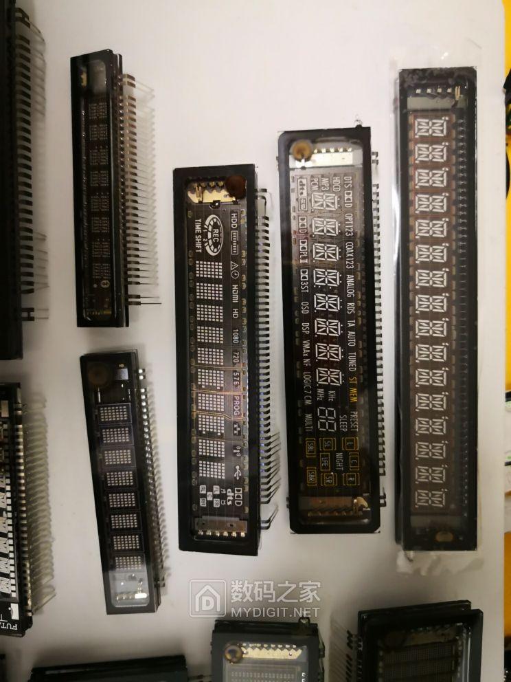 一批VFD屏幕,各种VFD