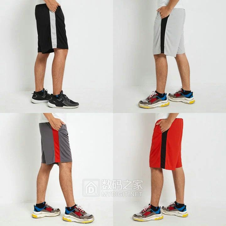 18.8元 包邮 处理一批外贸订单 速干面料篮球运动休闲短裤